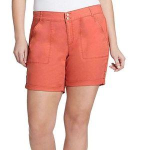 NWT Gloria Vanderbilt Twill Shorts